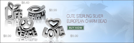 CUTE STERLING SILVER BEAD COLLECTION