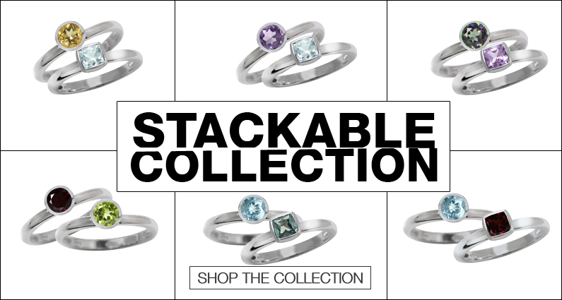 Stackable ring collection