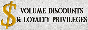 Volume Discount & Loyalty Privileges